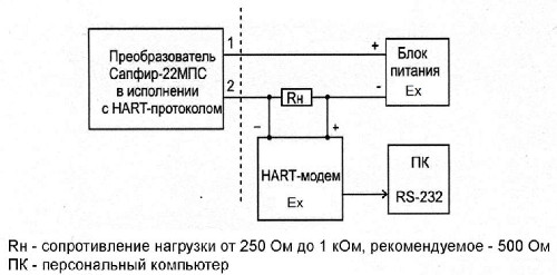 Рисунок 2.4 Схема подключения