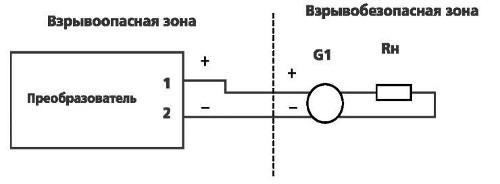 Включение преобразователя Сапфир-22МП-ДУ