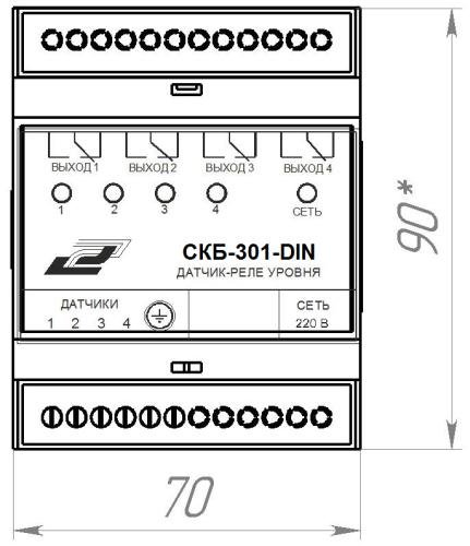 СКБ-301-DIN